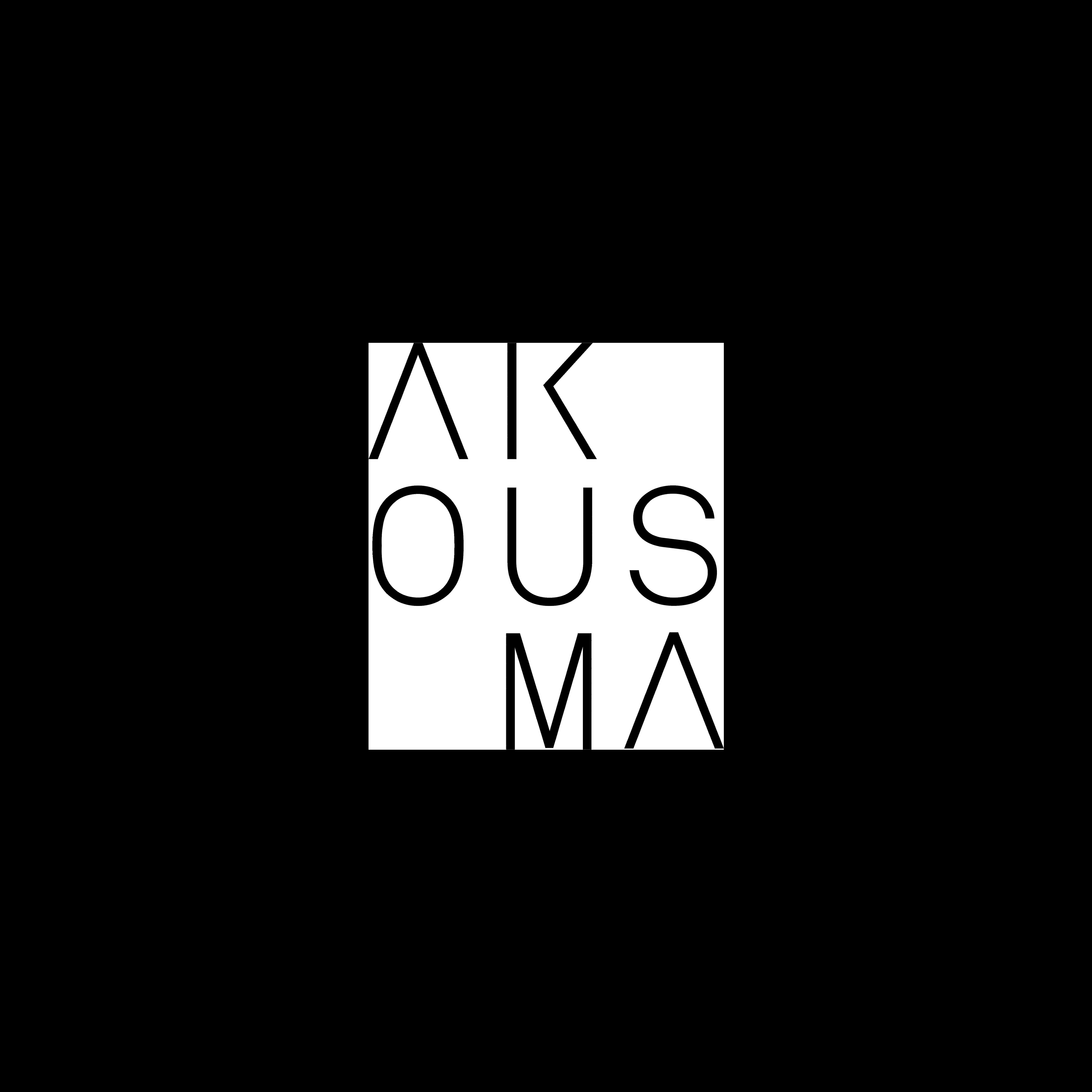 Akousma logo transparent
