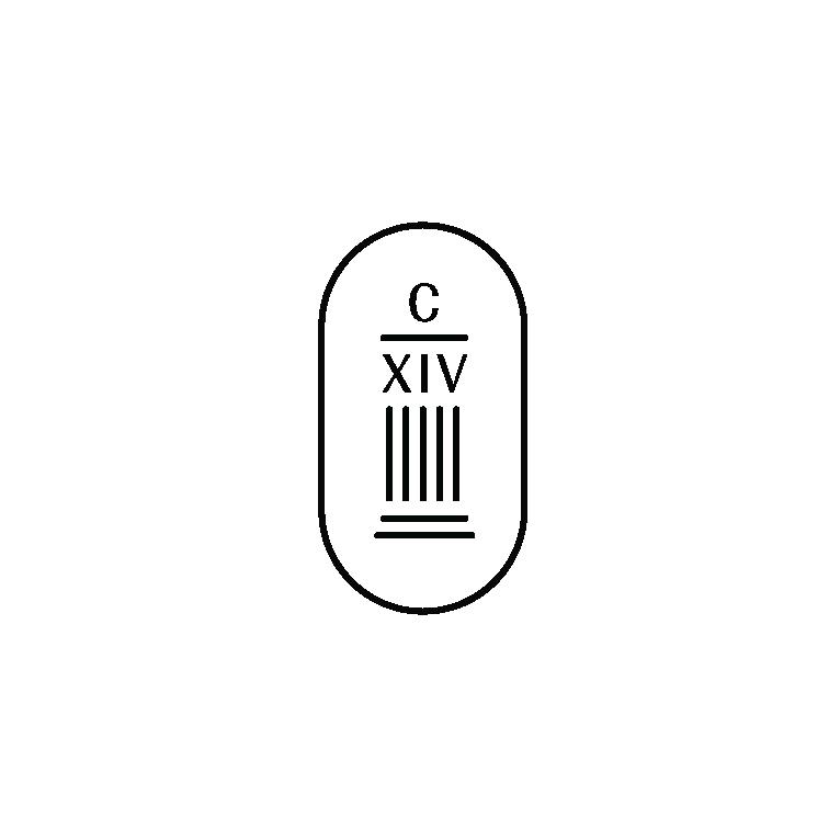 Chapelle XIV logo dark