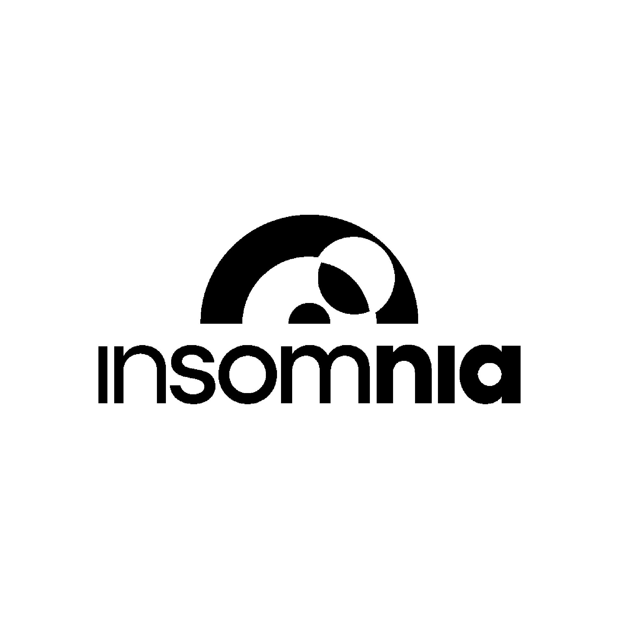 Insomnia logo dark
