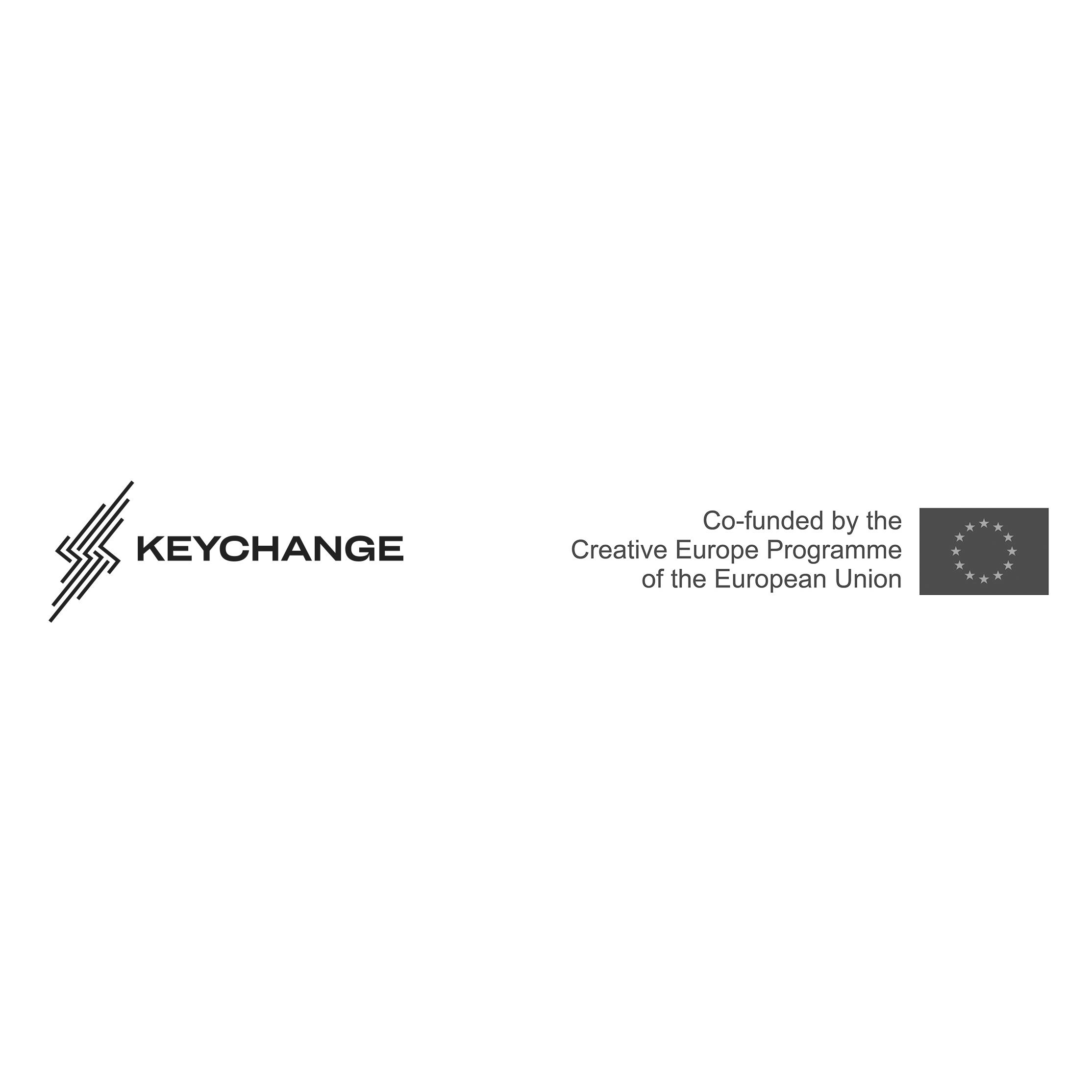 Keychange and CE logo dark