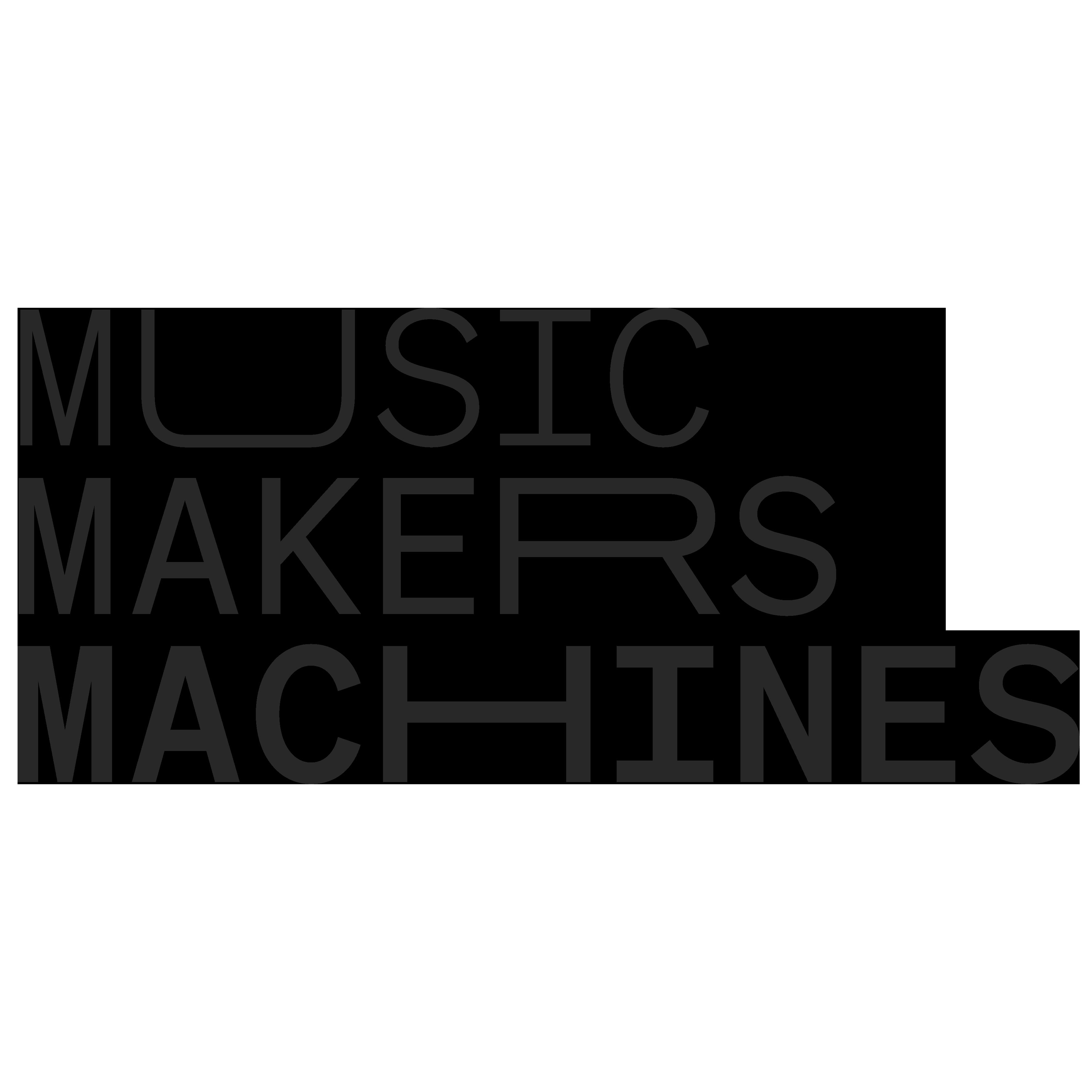 Music Makers Machines logo dark