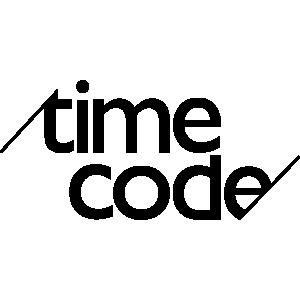 Timecode Logo 300x Black